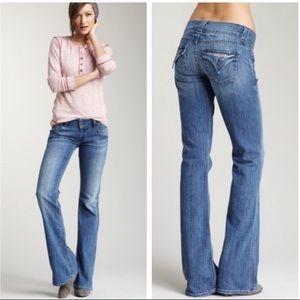 Hudson Signature Boot Cut Denim Jeans Size 26